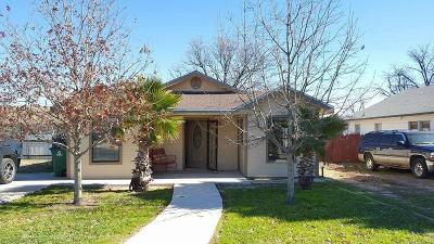 San Angelo TX Single Family Home For Sale: $109,000