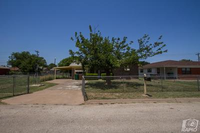 San Angelo Single Family Home For Sale: 1109 Wynne Ave