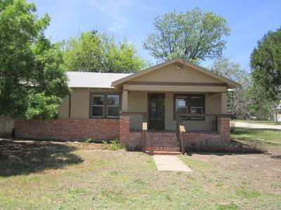 Mertzon Single Family Home For Sale: 315 NE Railroad St