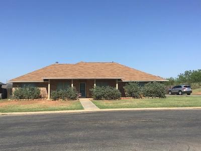 San Angelo Single Family Home For Sale: 310 Hunters Glen Rd