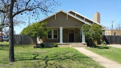 Single Family Home For Sale: 1225 S Monroe St