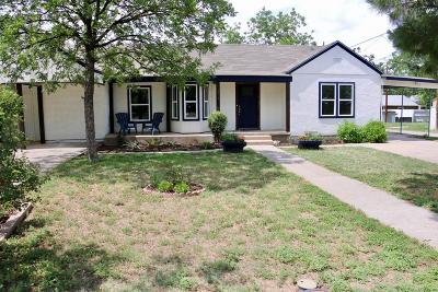 Single Family Home For Sale: 1818 W Ave K