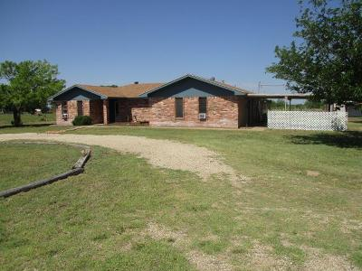 San Angelo Single Family Home For Sale: 10425 Cardinal Rd