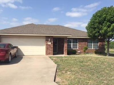 San Angelo Single Family Home For Sale: 2805 McGill Blvd