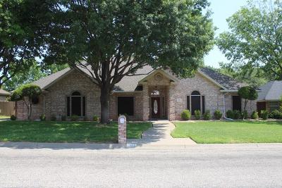San Angelo Single Family Home For Sale: 3306 Ridgecrest Lane