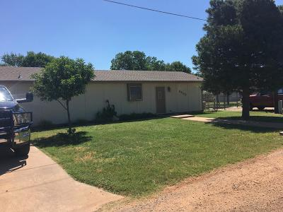 San Angelo TX Single Family Home For Sale: $225,000