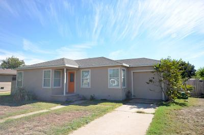 San Angelo TX Single Family Home For Sale: $94,700