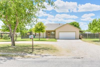 San Angelo TX Single Family Home For Sale: $187,000