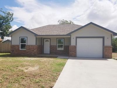 San Angelo TX Single Family Home For Sale: $149,900