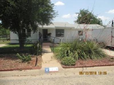 San Angelo Single Family Home For Sale: 2714 Blum St