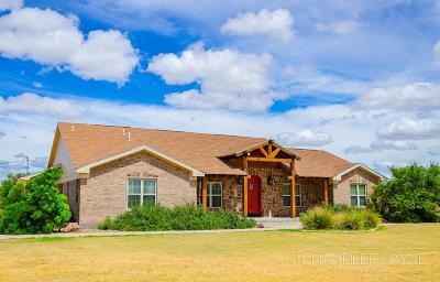 Christoval Single Family Home For Sale: 2245 Venado Dr