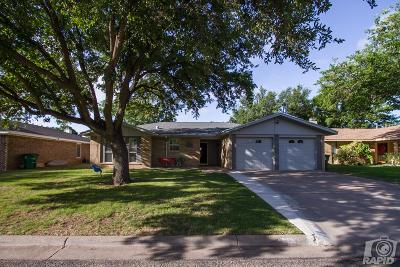 San Angelo TX Single Family Home For Sale: $154,000