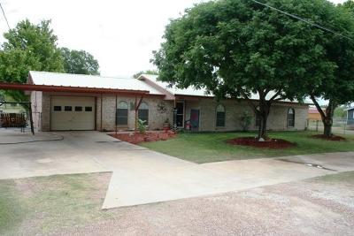 San Angelo TX Single Family Home For Sale: $165,000