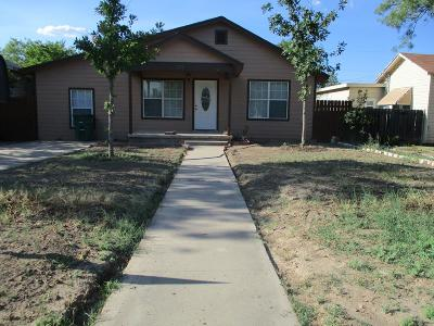 San Angelo Single Family Home For Sale: 312 W Ave C