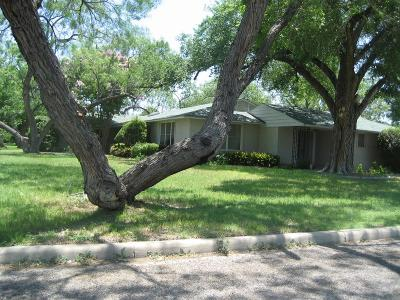 San Angelo Single Family Home For Sale: 1302 Shafter St