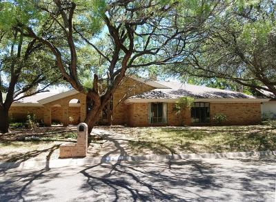 San Angelo Single Family Home For Sale: 3309 Sierra Court