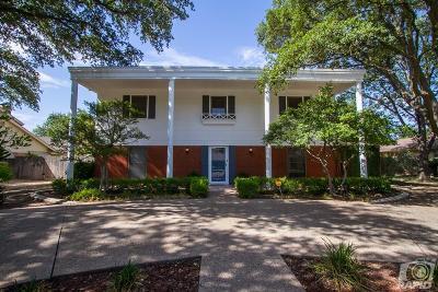 San Angelo Single Family Home For Sale: 2809 Alta Vista Lane