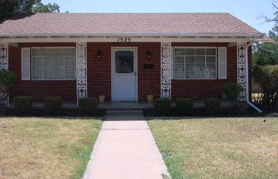San Angelo Single Family Home For Sale: 1525 S Van Buren St