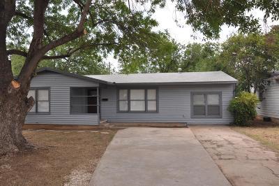 Single Family Home For Sale: 2629 W Beauregard Ave