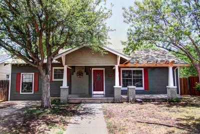 San Angelo Single Family Home For Sale: 1314 S Jackson St