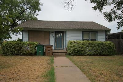 San Angelo Single Family Home For Sale: 718 N Bishop St