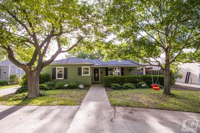 San Angelo Single Family Home For Sale: 1612 Shafter St