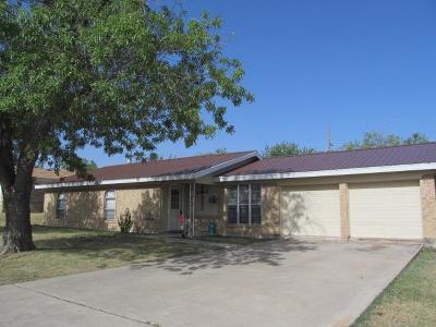 San Angelo Single Family Home For Sale: 3025 Catalina Dr
