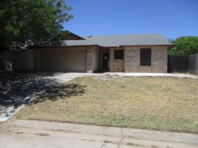 San Angelo TX Single Family Home For Sale: $115,000