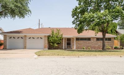 San Angelo TX Single Family Home For Sale: $159,000