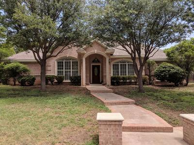 San Angelo Single Family Home For Sale: 3120 Scenic Vista Dr