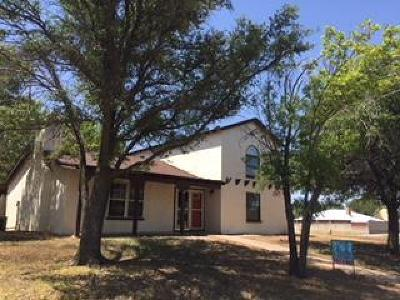 San Angelo TX Single Family Home For Sale: $181,500