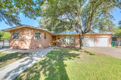 San Angelo TX Single Family Home For Sale: $182,000