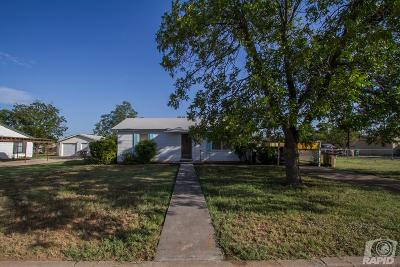 San Angelo TX Single Family Home For Sale: $65,000