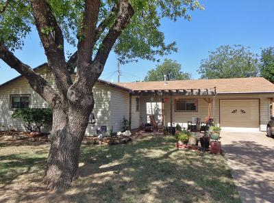 San Angelo Single Family Home For Sale: 161 Woodruff St
