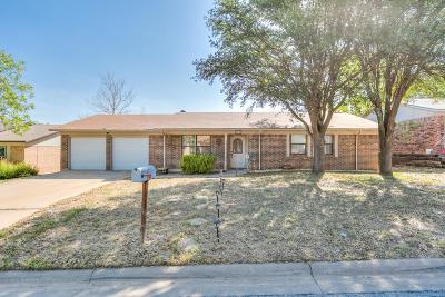 San Angelo Single Family Home For Sale: 1914 Spring Creek Dr