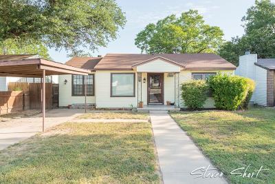 San Angelo Single Family Home For Sale: 1518 Preusser St