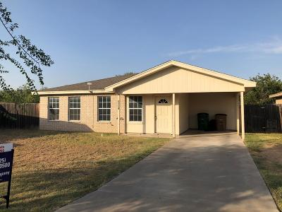 San Angelo Single Family Home For Sale: 3241 Grove Circle