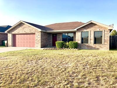 San Angelo Single Family Home For Sale: 2810 McGill Blvd