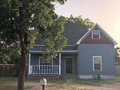 San Angelo Single Family Home For Sale: 1617 N Magdalen St