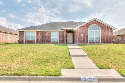 San Angelo Single Family Home For Sale: 3637 Shadyhill Dr