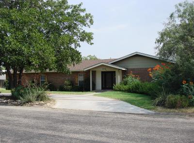 San Angelo Single Family Home For Sale: 1714 Catalina Dr