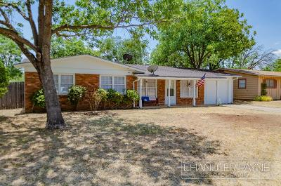 San Angelo Single Family Home For Sale: 3319 Stanford Dr