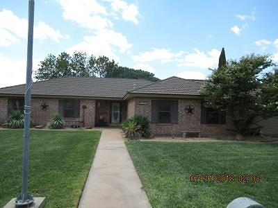 San Angelo Single Family Home For Sale: 5107 Oriole Dr