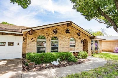 San Angelo Single Family Home For Sale: 3010 Hummingbird Lane
