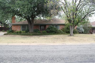 San Angelo Single Family Home For Sale: 3308 Tanglewood Dr