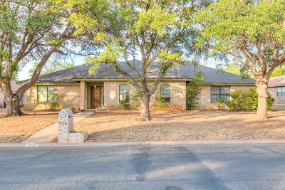 San Angelo Single Family Home For Sale: 3837 Sunset Dr