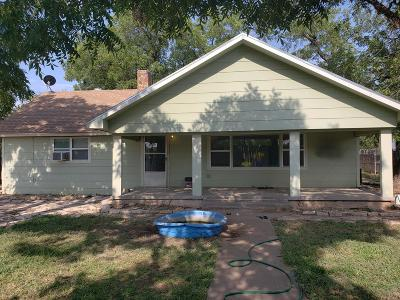 San Angelo Single Family Home For Sale: 5709 Fruitland Farm Rd