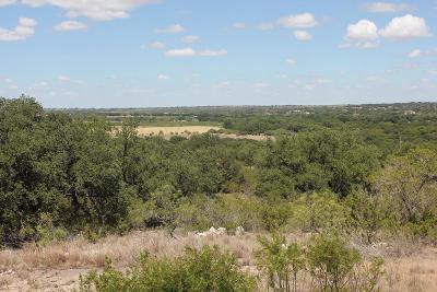Christoval Residential Lots & Land For Sale: 19502 Hilltop Road