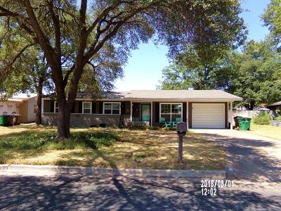 San Angelo Single Family Home For Sale: 3583 S Oxford Ave