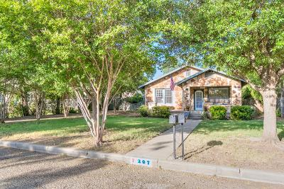 San Angelo Single Family Home For Sale: 207 S Jefferson St